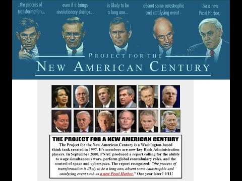 The Project For A New American Century (Blueprint For The NWO)