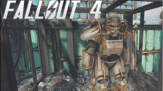 Fallout 4 - T-45 POWER ARMOR Location NEW