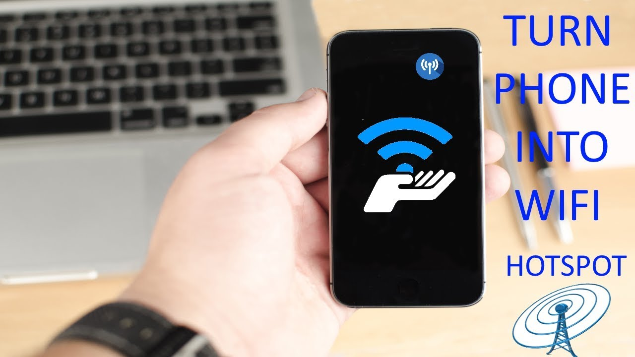 How To Turn Your Phone Into a WiFi Hotspot Without Root