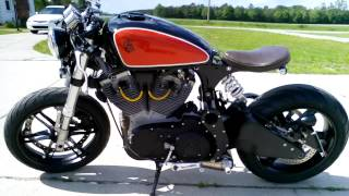 buell cafe bobber walk around