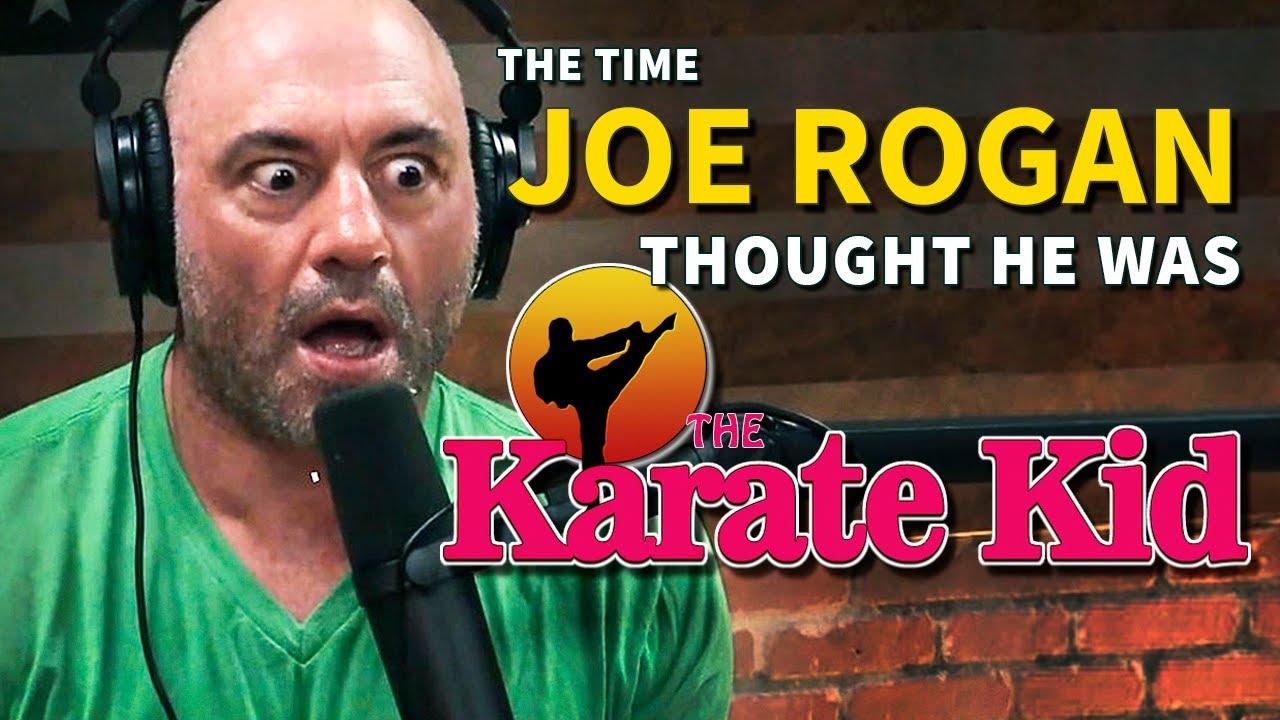 The Time Joe Rogan Thought He Was The Karate Kid