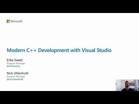 Modern C++ development with Visual Studio