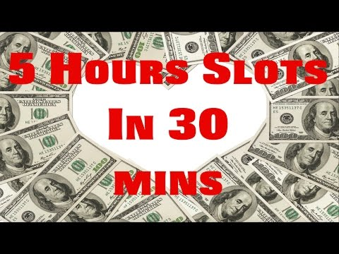 CRAZY 5 HOUR SLOTS SESSION FROM NO DEPOSIT FREE SPINS IN 30 MINS!!!