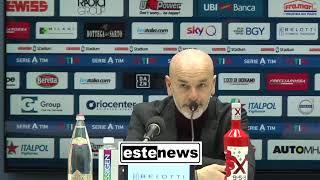 Atalanta-Milan 5-0, la conferenza di Pioli