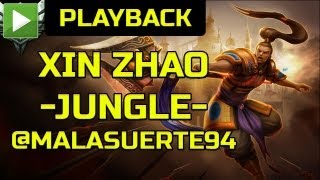 "LOG joaca - League of Legends XIN ZHAO ""jungle"" [RO]"