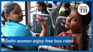 Free bus rides for Delhi women