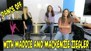dance competition with maddie and mackenzie ziegler