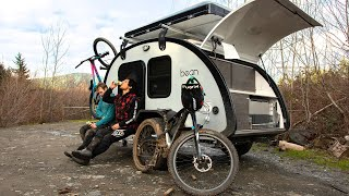 Expedition Camper with Waterproof Roofline (2020 Teardrop Trailer Walk Through) Meaner Bean Timbren