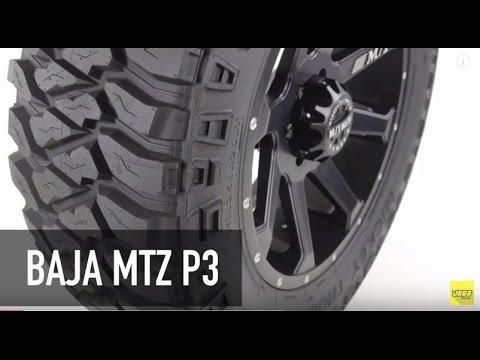 Mickey Thompson Baja MTZ P3 Radial Tires Tutorial Overview
