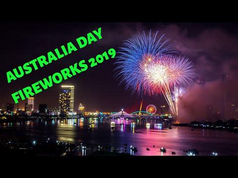 2019 Australia Day Skyworks  | Perth WA