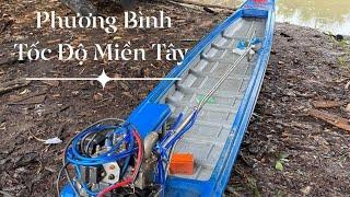 Test vỏ thái mới đổ cùng máy kawasaki 650cc sông Ô Môn | PHƯƠNG BÌNH