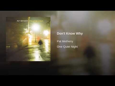Pat Metheny - Don't Know Why (Jesse Harris Cover)