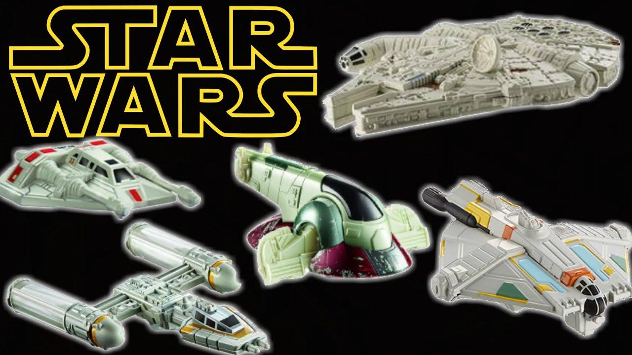 Uncategorized Luke Skywalker Ship star wars ships millenium falcon luke skywalker han solo hot wheels cars youtube