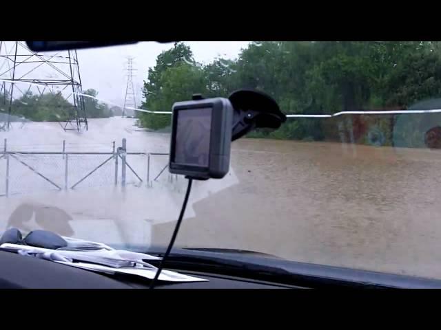 Linden Drive Neighborhood Flood #8 - Nashville Flood 2010