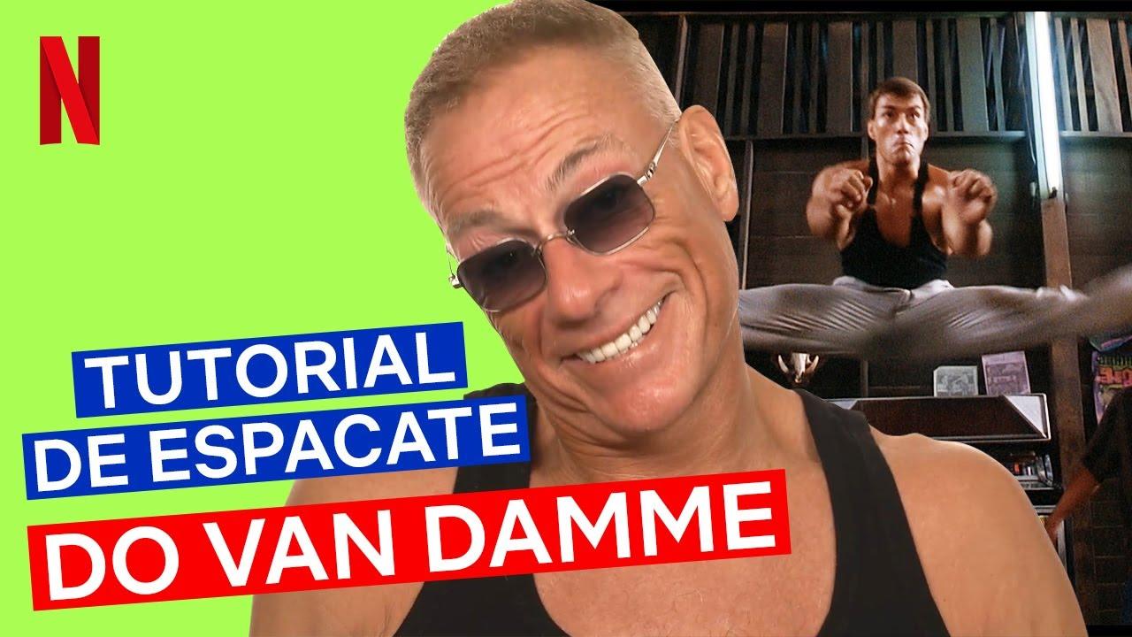Ele ainda consegue! Van Damme ensina os segredos do espacate   O Último Mercenário   Netflix Brasil