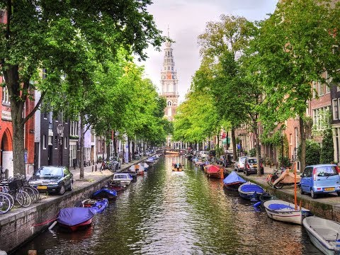 السياحة المذهلة   تغطية الأخ طلال لعاصمة هولاندا أمسستردام   capital of Holland, Amsterdam