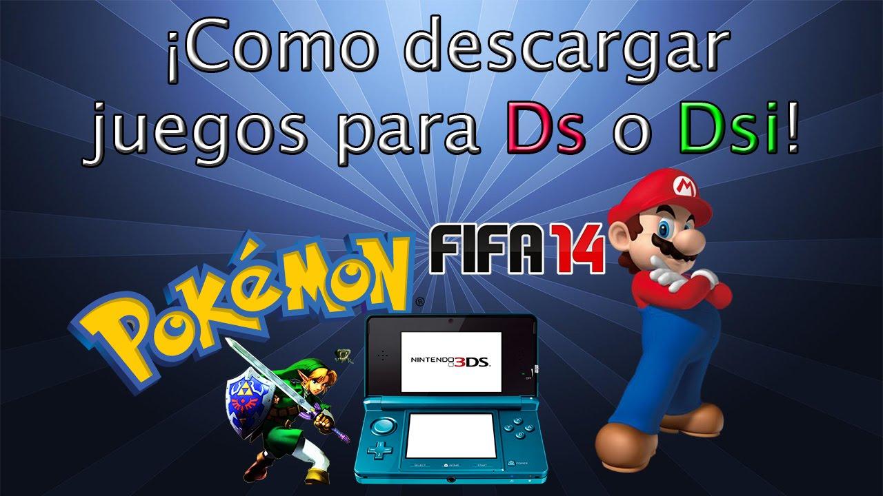 Como Descargar Juegos Para La Nintendo Ds O Dsi Youtube