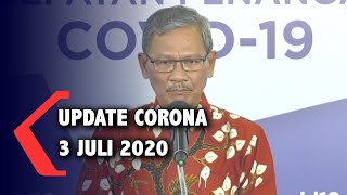Update Corona 3 Juli 2020: 60.695 Positif, 3.036 Meninggal, 27.568 Sembuh