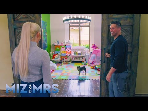 The Miz surprises Maryse with a new playroom for Monroe: Miz & Mrs., April 9, 2019