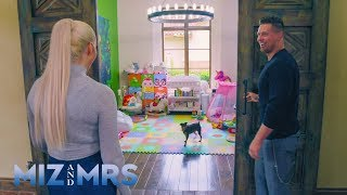 The Miz surprises Maryse with a new playroom for Monroe: Miz & Mrs., April 9, 2019
