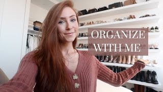 ORGANIZE WITH ME (+ WHAT I'M SELLING) | FARFETCH HAUL
