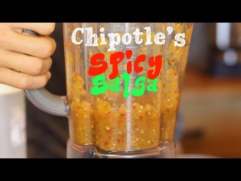 Blow Your Mind off Spicy Salsa - Chipotle