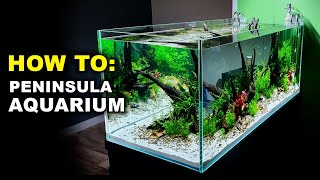 Aquascape Tutorial: 4ft PENINSULA AQUARIUM: Planted Asian Fish Tank (How To: Step By Step Guide)