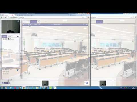 Video Chat, Video Conference and Presentation using WebRTC