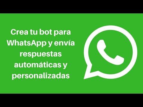 Como Crear Respuestas Automáticas Para WhatsApp En Android - Crea Tu Bot - 2018