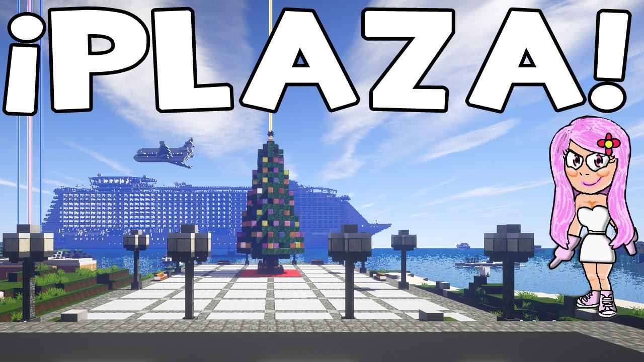 Plaza moderna en minecraft tutorial de construcciones for Construcciones modernas