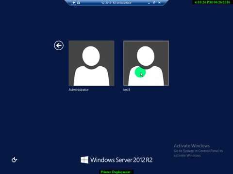 User Profile (Local, Roaming, Mandatory) in Server 2012 R2