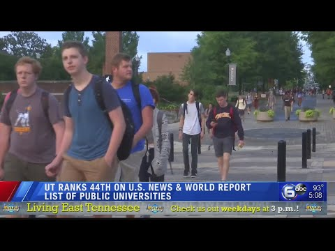 UT 44th In U.S. News University Rankings