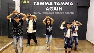 Tamma Tamma Again | Badrinath ki Dulhania | Kids Dance | Freestyle Choreography