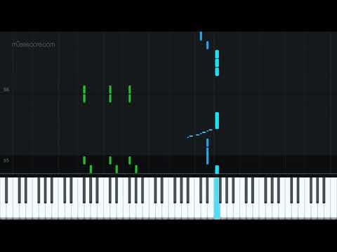 Wanted - OneRepublic - Improvised by PKimchi by Kimchet [Piano Tutorial + Sheet music] thumbnail