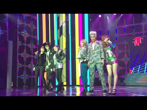 【TVPP】GD&TOP(BIGBANG) - Oh Yeah (with 2NE1), 지드래곤&탑(빅뱅) - 오 예 (with 투애니원) @ 2010 KMF Live