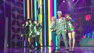 Repeat youtube video 【TVPP】GD&TOP(BIGBANG) - Oh Yeah (with 2NE1), 지드래곤&탑(빅뱅) - 오 예 (with 투애니원) @ 2010 KMF Live