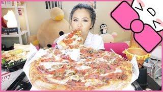 NEW YORK STYLE PIZZA | MUKBANG