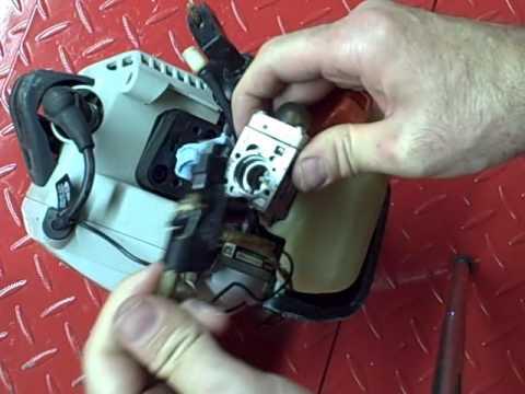 Small Engine Repair: Rebuilding a Diaphragm Carburetor on a Echo SRM-230 Trimmer Part 1 of 3
