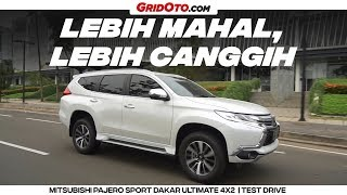 Mitsubishi Pajero Sport Dakar Ultimate 4x2 | Test Drive | GridOto