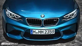 bmw m2 sounds launch control startup acceleration fly by