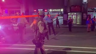 Looting, unrest in downtown Minneapolis after police say shooting suspect killed self