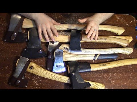 HOW TO CHOOSE AN AXE - Why You Need One