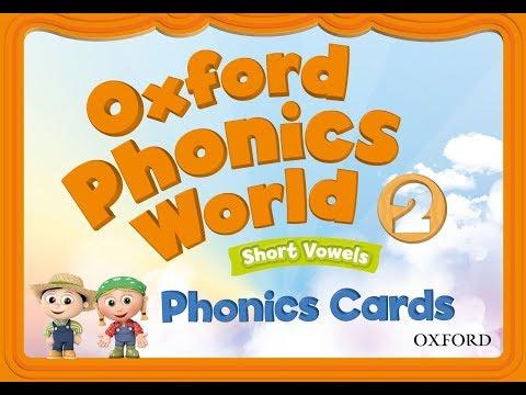 Oxford Phonics World 2 CD1 English for kids