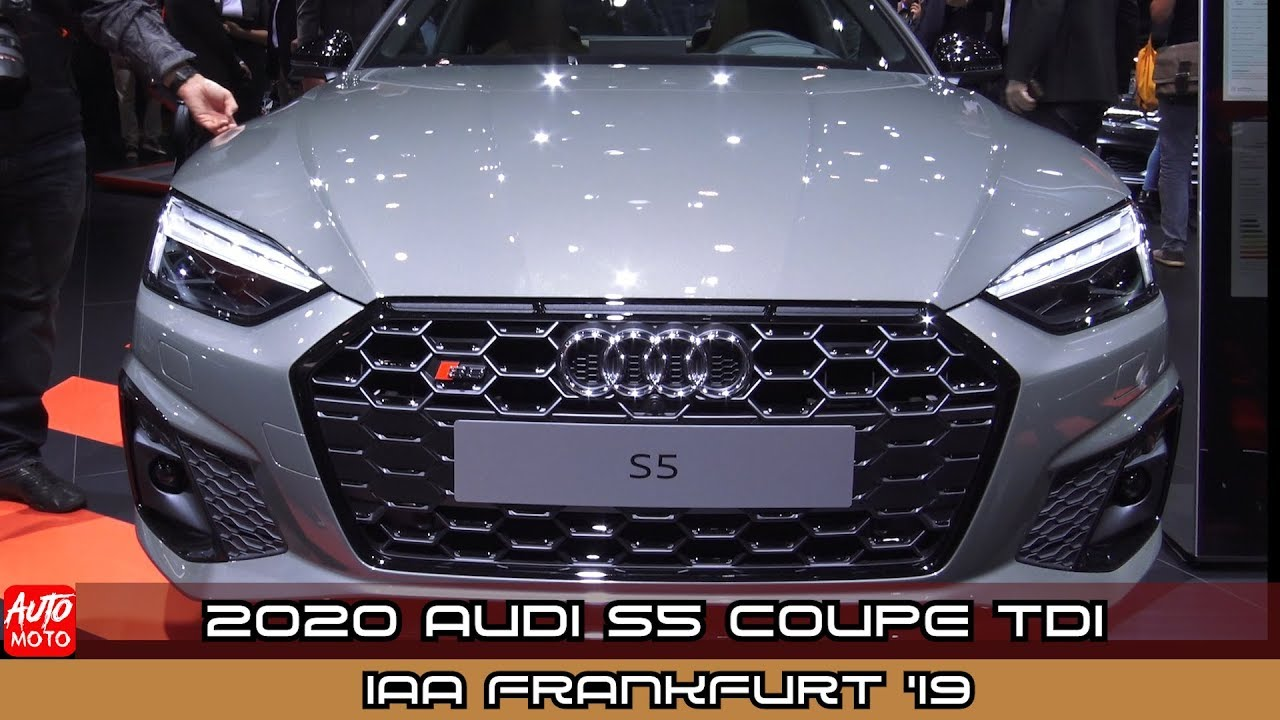 2020 Audi S5 Coupe TDI - Exterior And Interior - Debut At ...