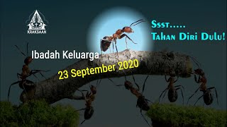 Ibadah Keluarga 23 September 2020 - GKJW Jemaat Kraksaan