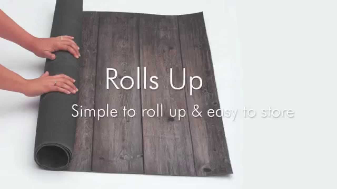 Fabfloors Professional Photography Roll Up Floors