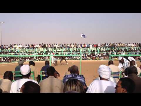Nuba Wrestling in Khartoum