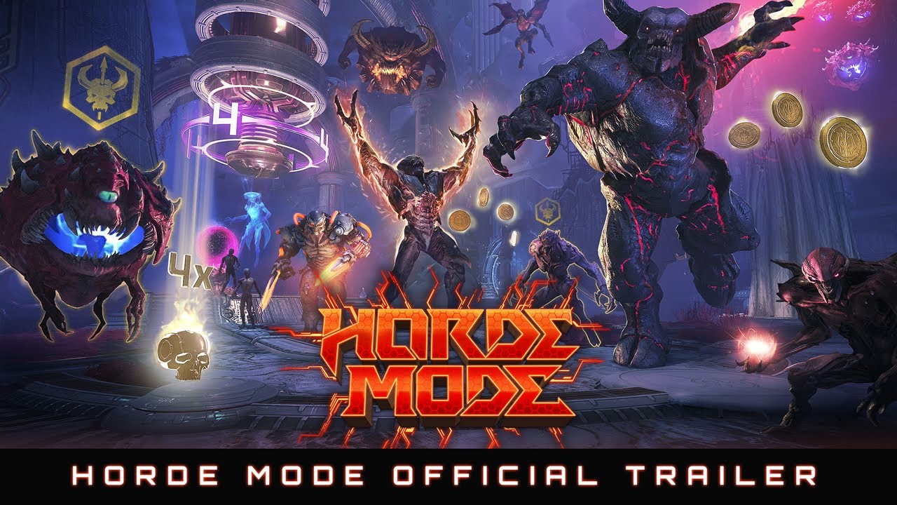 Download DOOM Eternal: Horde Mode Official Trailer –Update 6.66 Available Now!
