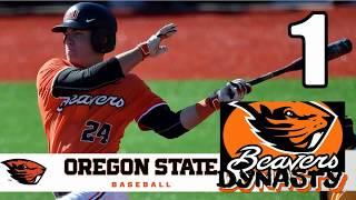 MVP 06 NCAA Baseball - Oregon State Beavers Dynasty - Episode 1