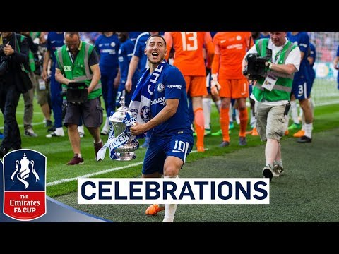 chelsea celebrate fa cup final win emirates fa cup final 2017 18